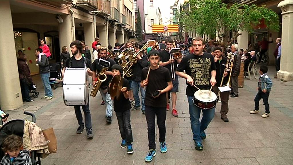 La Banda de l'EMM de Vilafranca podria participar a la Patum de Berga