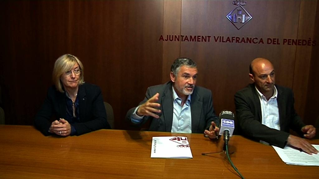 L'Ajuntament implica els cellers per decorar les rotondes de Vilafranca amb motius vitivinícoles
