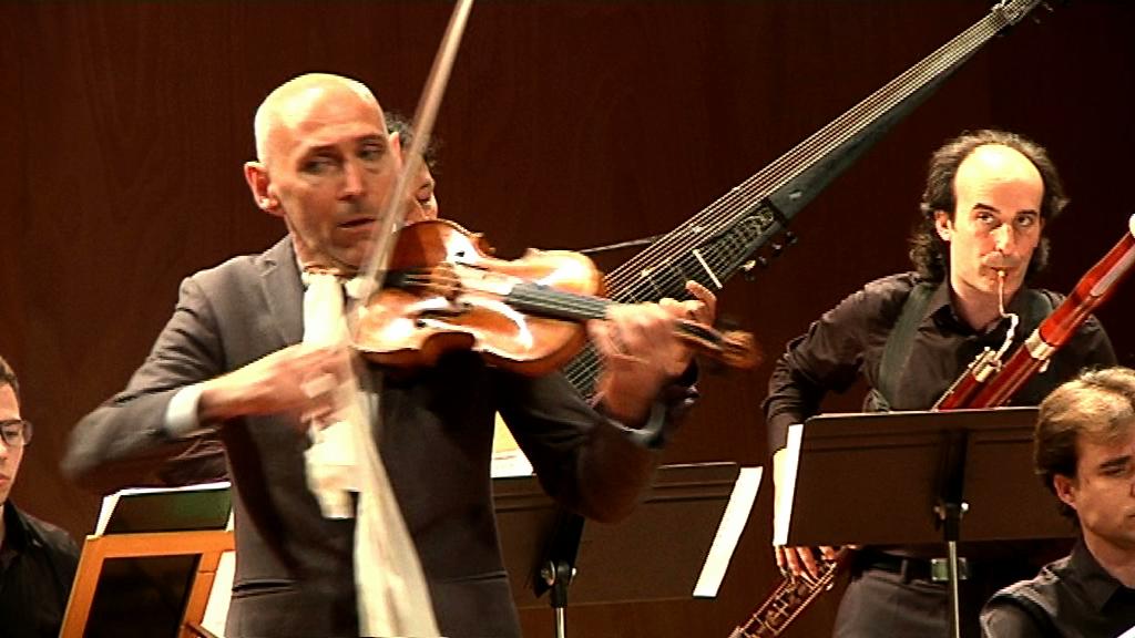 El violinista italià Enrico Onofri i l'OCP ofereixen un concert excepcional a Vilafranca i esperen poder col·laborar més endavant