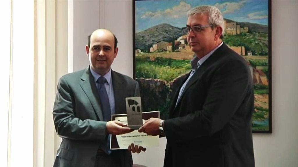 Factory Second Hand de Vilafranca rep un dels dos premis Mancomunitat Finança