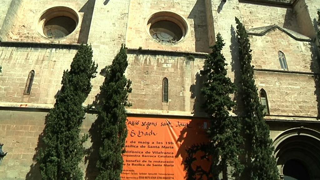 La passió segons Sant Joan, de Bach, servirà per recollir diners per col·laborar amb la restauració del sostre de la basílica de Santa Maria