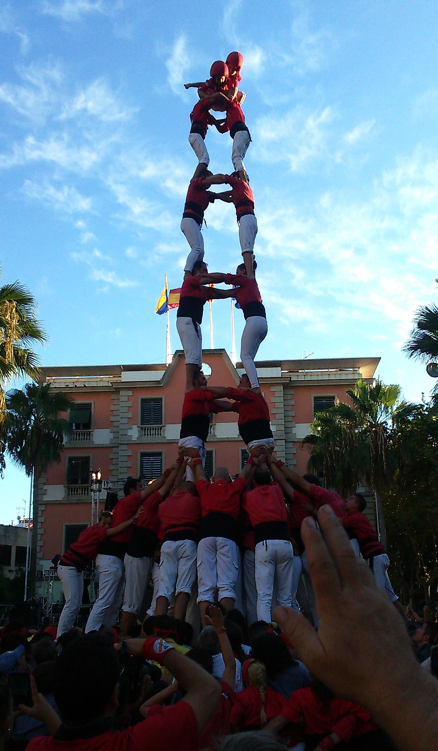 Els Xicots de Vilafranca han sumat aquest diumenge la quarta tripleta de 8 de la temporada, a Castelldefels
