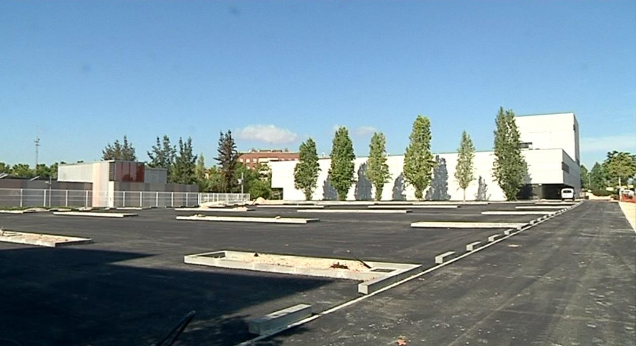 L'aparcament del nou ambulatori oferirà 120 noves places
