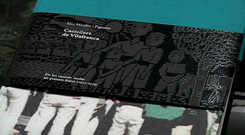Els Verds presenten 'Castellers de Vilafranca. Volum II', un llibre complet i acadèmic que segueix la línia del primer volum