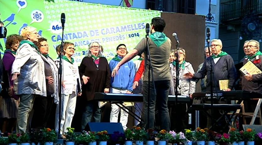 Quatre grups participaran a la 48a Cantada de Caramelles de Vilafranca aquest dissabte