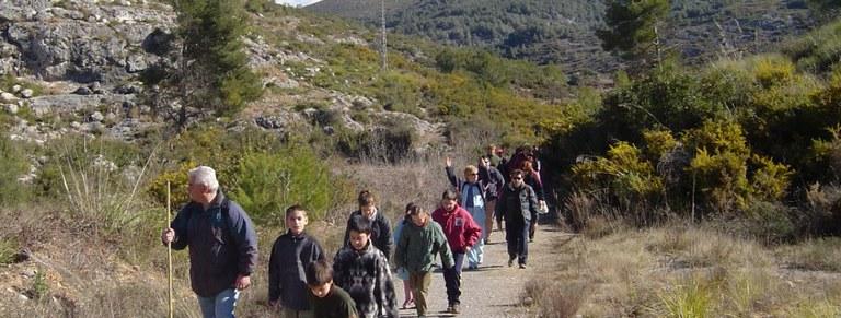 Un taller dedicat als ibers i una caminada, activitats al Parc d'Olèrdola aquest cap de setmana