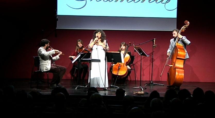 El concert de Celeste Alías i el quartet de corda de l'OCP s'estrena amb èxit
