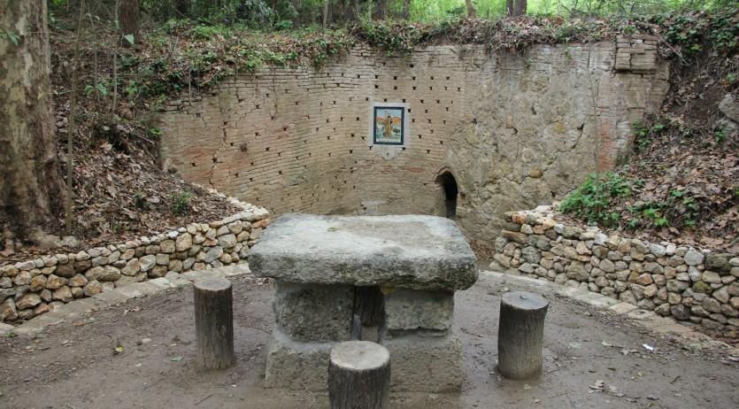 Finalitzen els treballs d'arranjament de l'antiga mina i l'entorn de Sant Benet d'Espiells