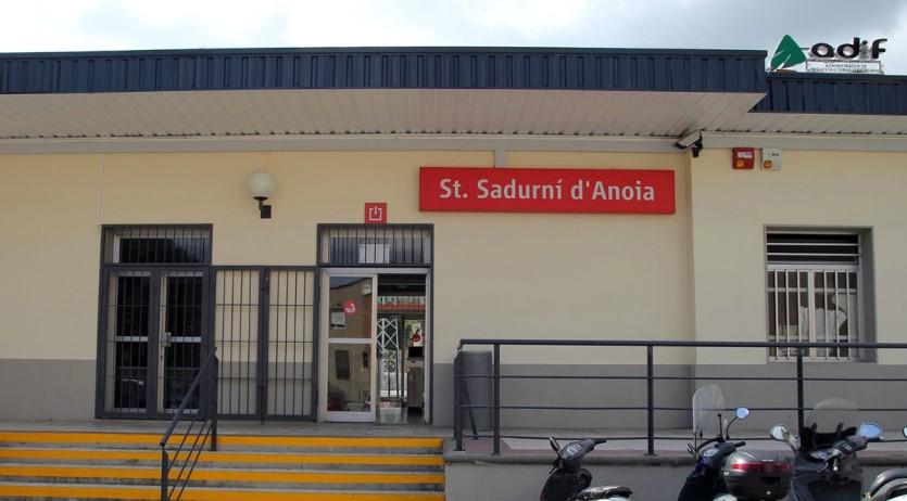 Sant Sadurní reclama que les obres de millora de l'estació de Renfe comencin ja