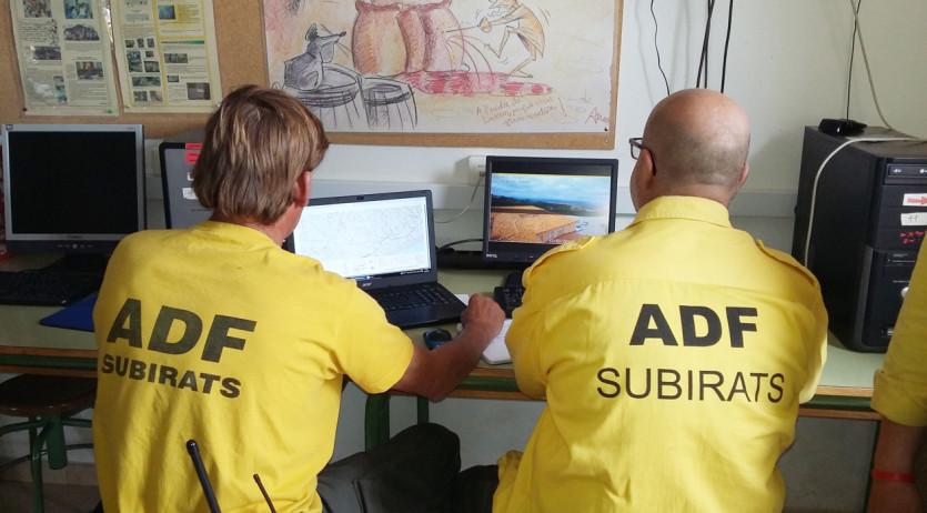 L'ADF de Subirats implanta un sistema pioner per la vigilància forestal