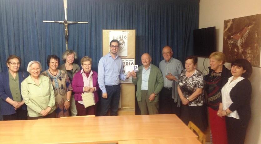 La Campanya de l'Ampolla lliura més de 4.000€ al grup Tercer Món-Mans Unides de Vilafranca