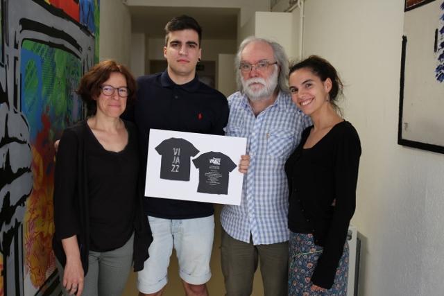 El disseny de Sergi Mata guanya el concurs per il·lustrar la samarreta oficial del Vijazz 2016