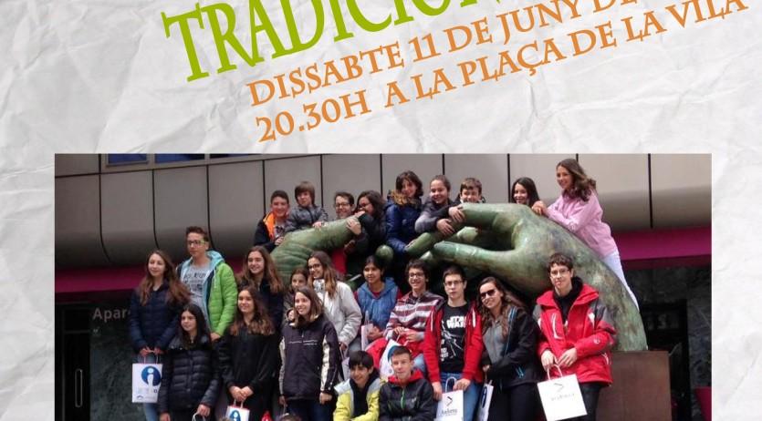 La tercera Mostra de Dansa d'Arrel Tradicional porta a Gelida un esbart juvenil d'Andorra