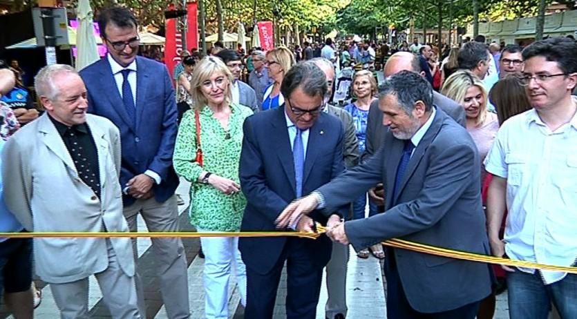 L'ex president Mas ha inaugurat aquesta tarda la desena edició del Vijazz