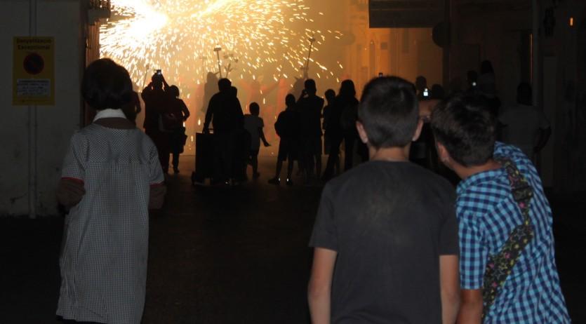 L'Ajuntament celebra la voluntat festiva i de convivència dels veïns durant la FM de Sant Martí