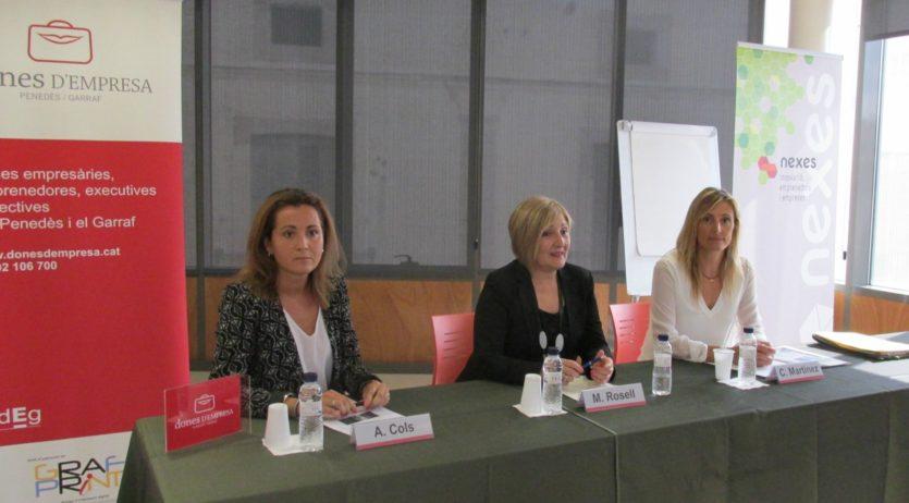 Trobada empresarial entre Nexes i el col·lectiu de Dones d'empresa de l'ADEPG