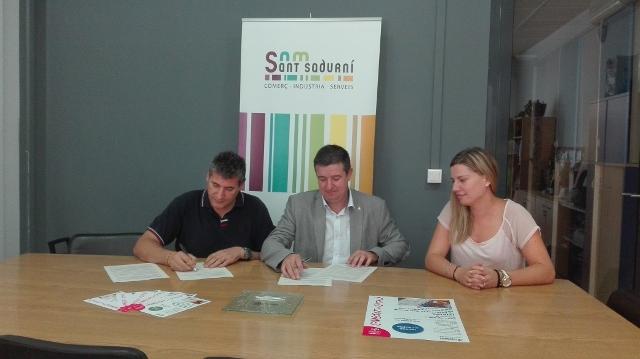 El CNL de l'Alt Penedès i el Garraf signa conveni de col·laboració amb Som Sant Sadurní