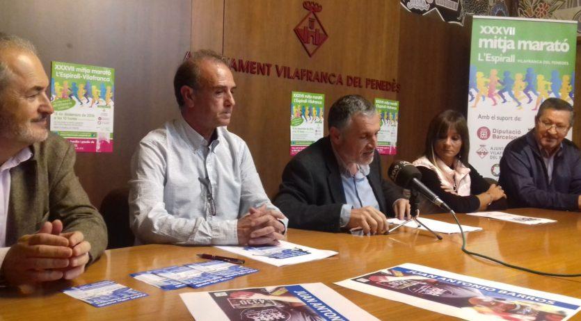 La Mitja Marató de l'Espirall se celebrarà el diumenge 18 de desembre