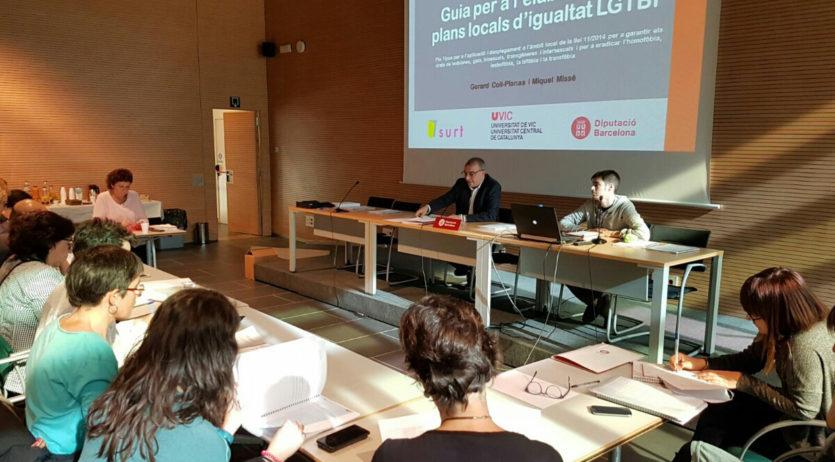 Vilafranca participa en un pla pilot de la Diputació que impulsa polítiques d'igualtat LGTBI