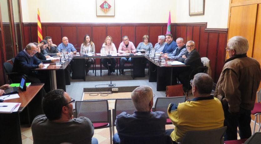Sessió d'audiència pública a Santa Margarida i els Monjos per parlar de pressupostos