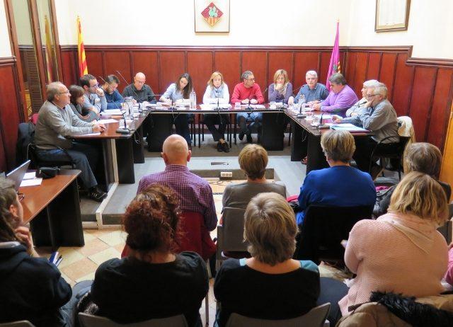 L'Ajuntament dels Monjos va celebrar dimarts la seva sessió d'audiència pública