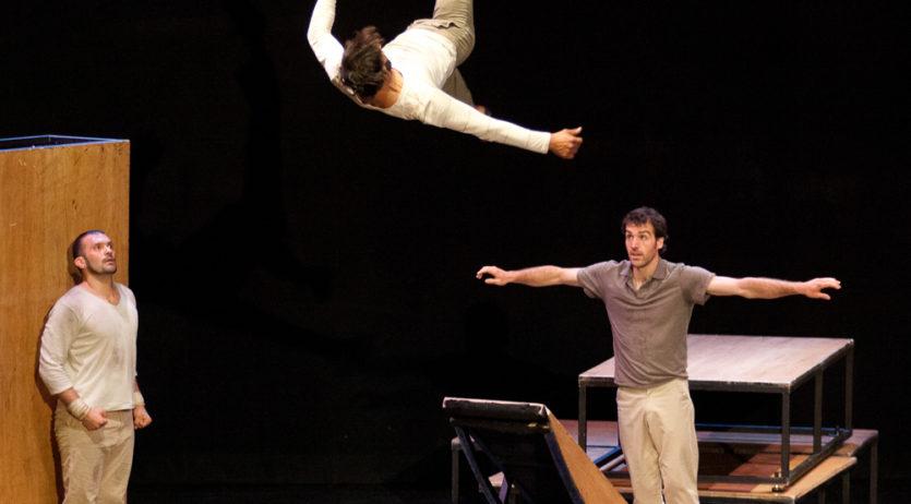 """La companyia de Circ """"eia"""" presenta inTarsi aquest diumenge a l'Auditori de Vilafranca"""