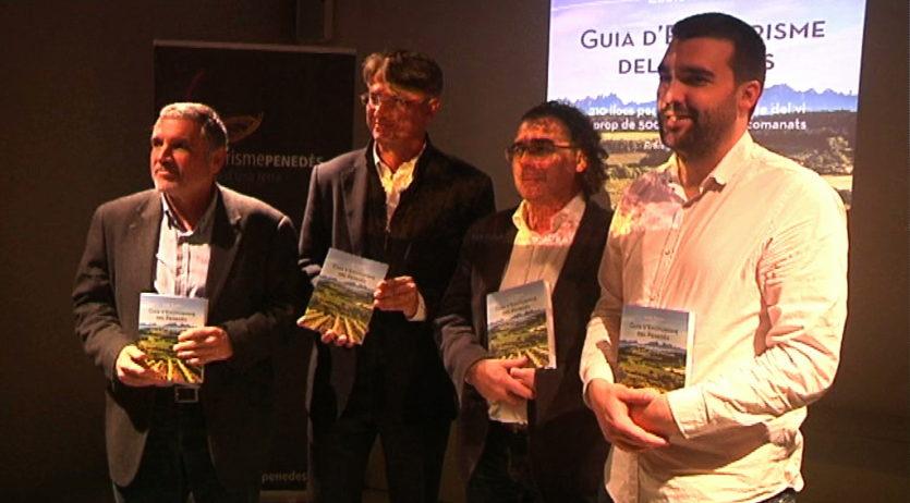 La guia d'enoturisme del Penedès ha rebut el premi a la millor guia d'enoturisme d'Espanya