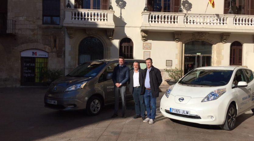 L'Ajuntament de Vilafranca disposa de dos vehicles elèctrics en prova