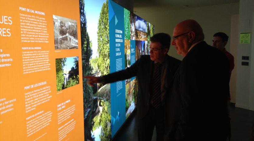 El conseller d'Empresa i Coneixement elogia el Centre d'Interpretació de l'Aigua de Torrelavit