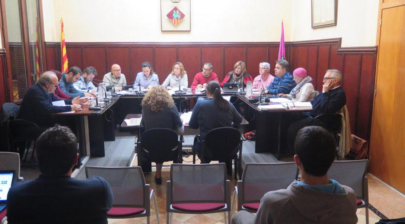 L'Ajuntament de Santa Margarida i els Monjos aprova un pressupost de 8,7 milions € per al 2017