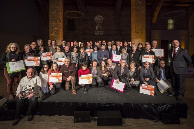 El Casal i La Torre de les Gunyoles recullen guardons en els Premis Ateneus 2016