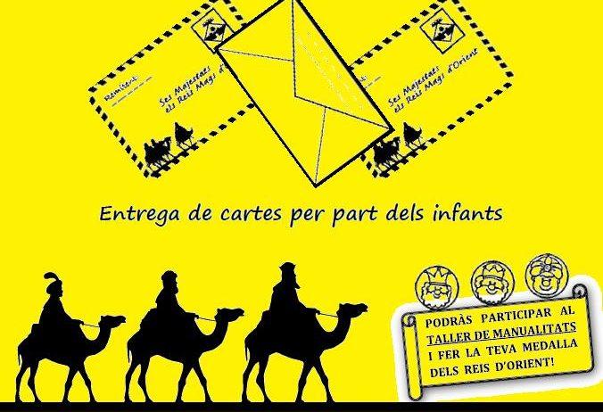 El patge Raimon recollirà les cartes dels més petits a la Barceloneta Sant Magí dijous