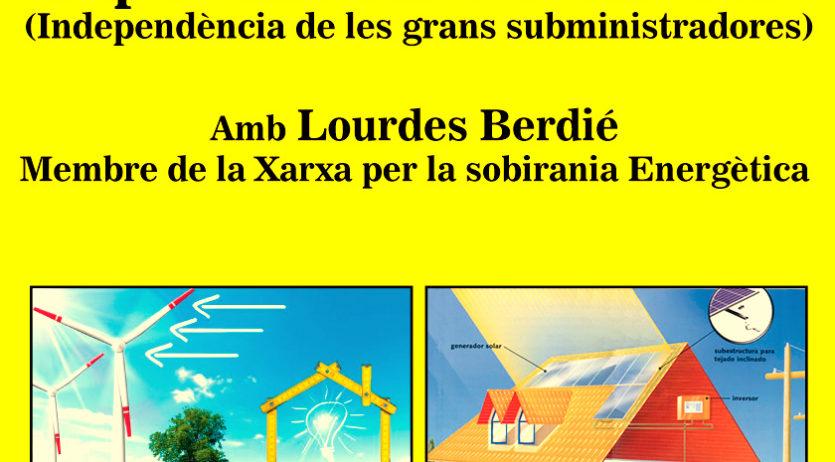 Poble Actiu-CUP de Santa Margarida i Els Monjos parlarà de Sobirania Energètica