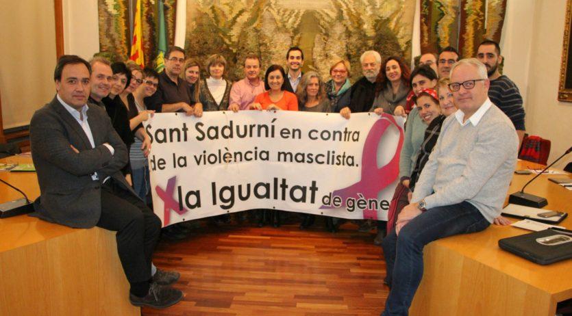 Sant Sadurní passa balanç al 2016 en temes de violència les dones