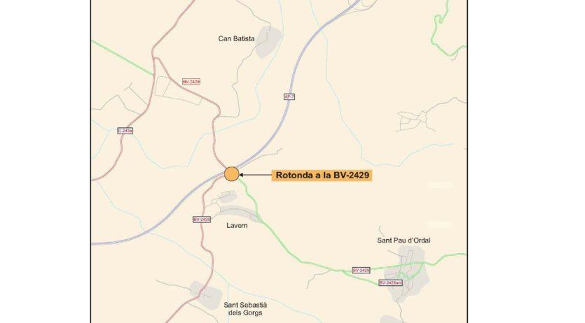 S'ha adjudicat la redacció del projecte de construcció d'una nova rotonda a Subirats