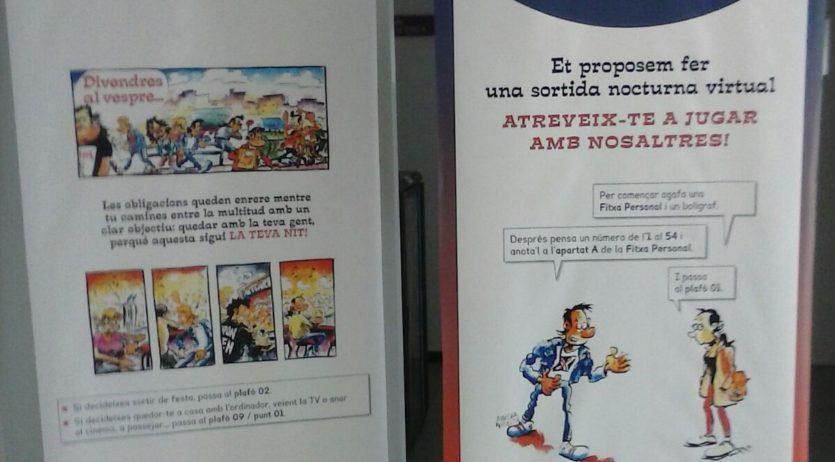 """Vilafranca acull aquest mes de febrer l'exposició """"Febre del divendres nit"""""""