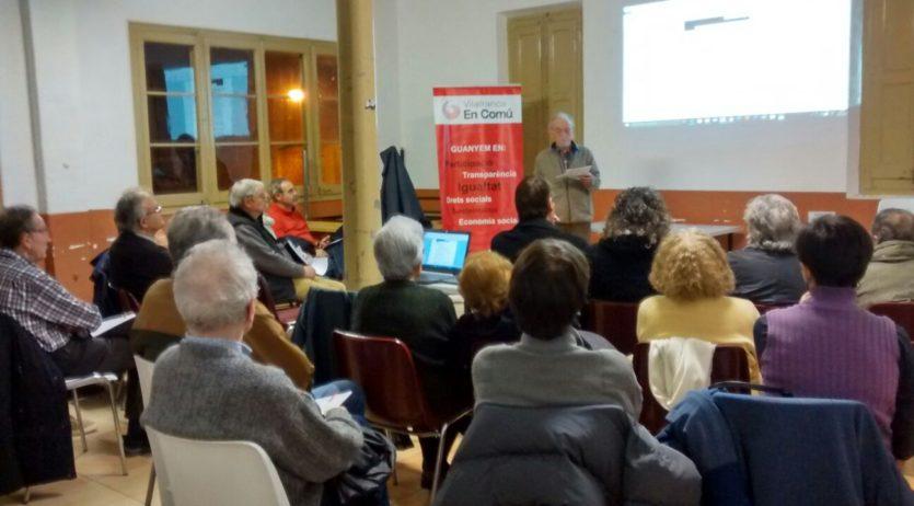 Vilafranca en Comú recull dels veïns les necessitats del Molí d'en Rovira