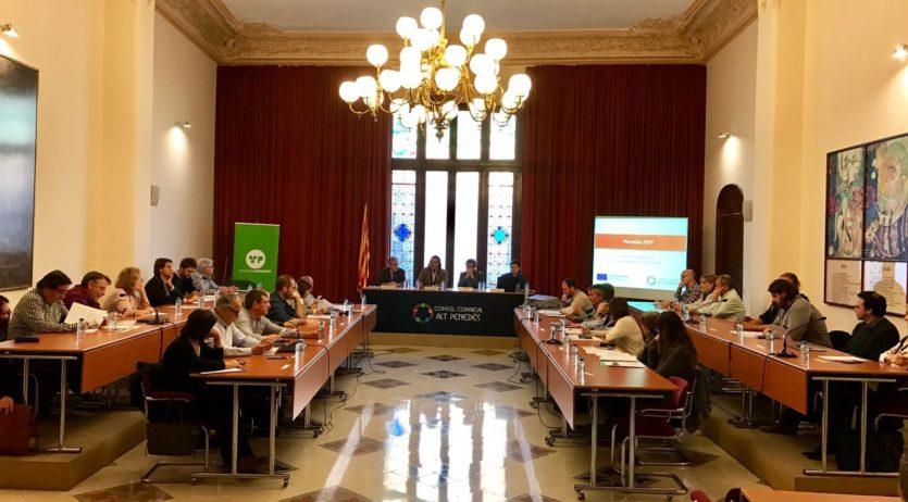 El Consell Comarcal celebra la primera reunió de treball amb els ajuntaments inclosos al Feder