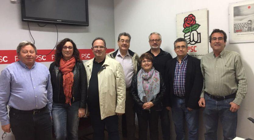El PSC de Sant Sadurní renova la seva executiva per donar més visibilitat a la tasca municipal