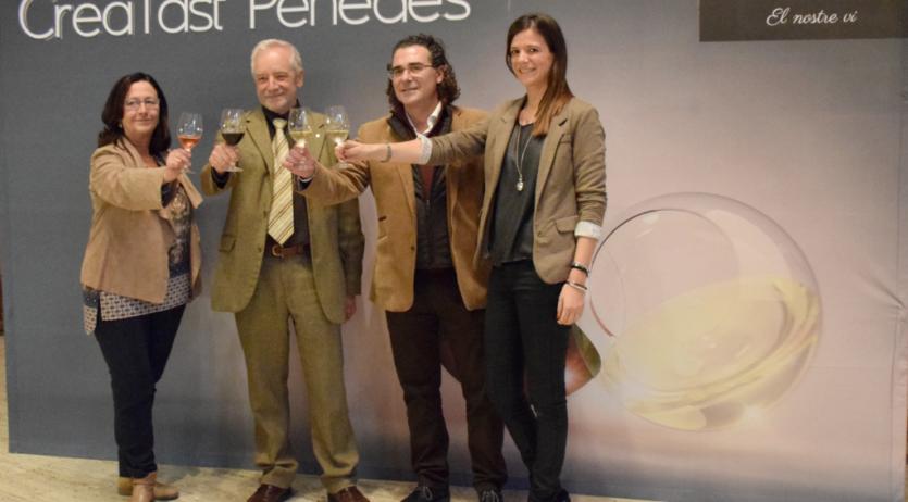 Més de 150 referències de vins s'han pogut tastar al CreaTast Penedès 2017 a Barcelona