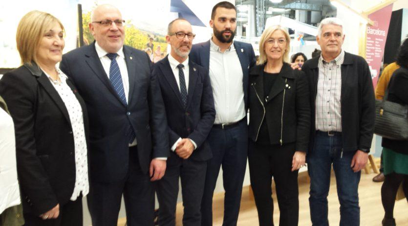 Vilafranca ha estat present al saló internacional de turisme de Catalunya B-Travel