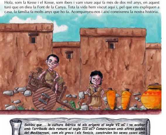 Presentació el conte infantil il·lustrat La Kesse i el Kosse a la Font de la Canya