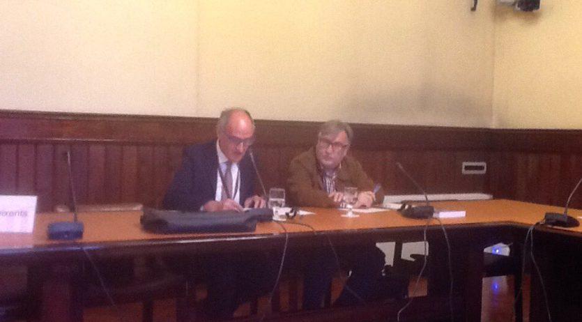 Ramon Arnabat a la ponència del parlament sobre la llei d'anul·lació dels judicis sumaríssims