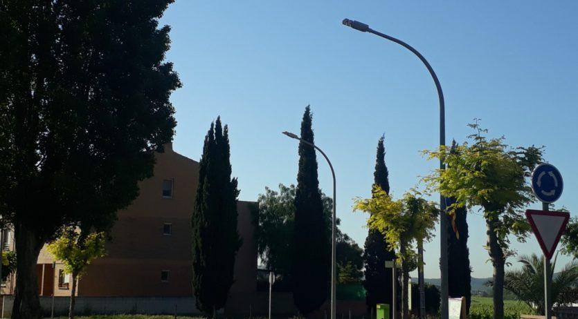 La Granada renova bona part de l'enllumenat municipal, que passa a ser de baix consum