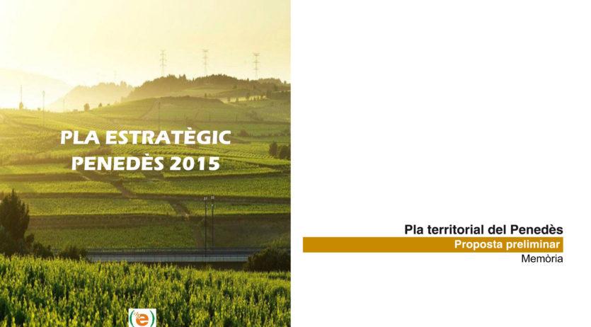 La Comissió de Territori del Pla Estratègic valora positivament la proposta del Pla Territorial