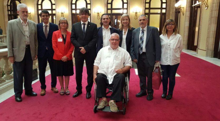 Alcaldes i presidents Comarcals plategen a Puigdemont la cocapitalitat de la Vegueria