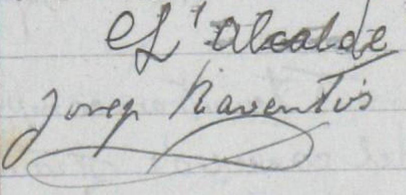 Olèrdola ret homenatge aquest dissabte a Josep Raventós Valldosera, alcalde durant la 2a Repúbl
