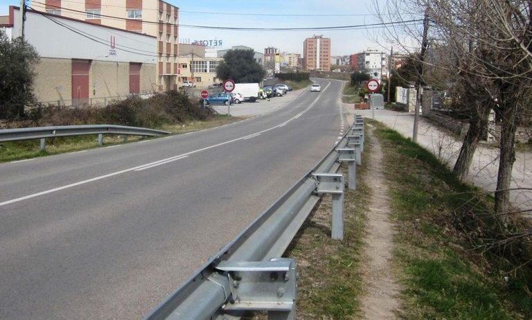 S'inicien les obres del camí de vianants entre Moja i Vilafranca
