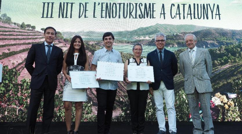 La Carretera del Vi rep el Premi d'Enoturisme de Catalunya en Experiències i Innovació