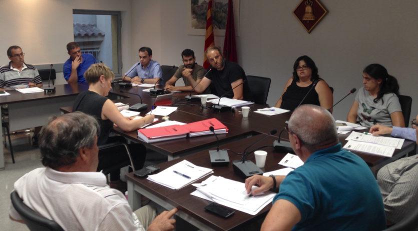 El Ple inicia l'expedient de delimitació de Sant Martí Sarroca amb els municipis limítrofs
